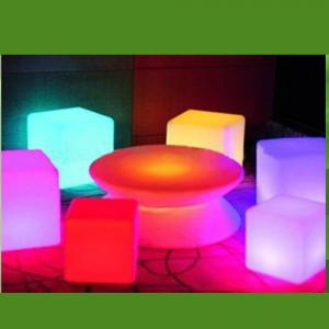 Color Changing Outdoor Illuminated LED Coffee Table From China Factory