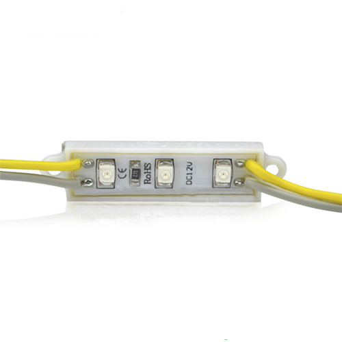 Dc12V 0.24W Pcb 3 Pcs 3528 SMD LED Diode Module Waterproof Ip67