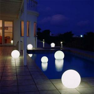 Rgb Waterproof LED Light Ball Swimming Pool By Professional Manufacturer