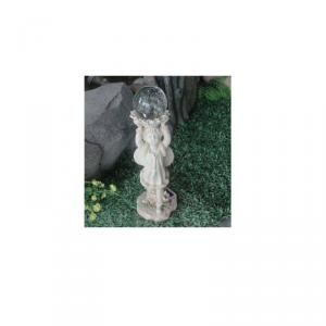 Angel Solar Garden Light Resin