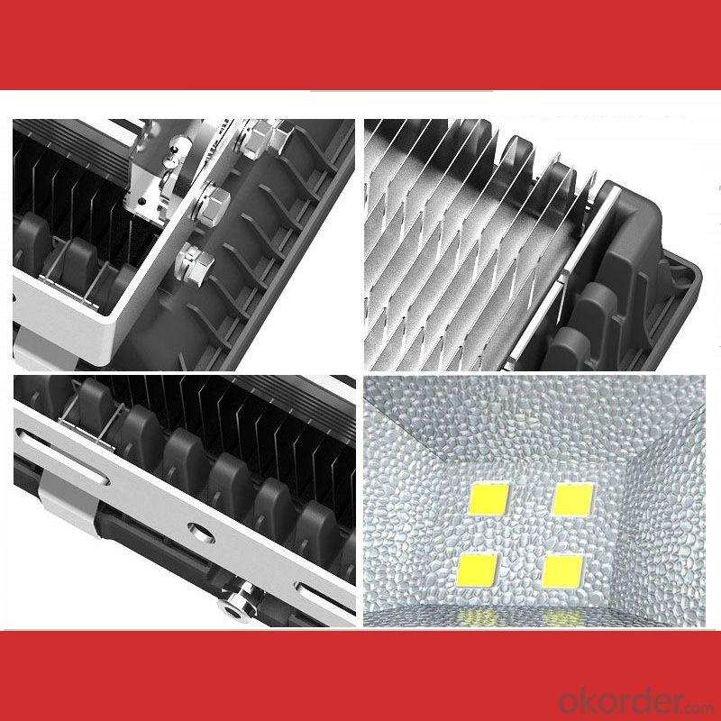 Free Sample Copper Pipe Heatsink 150W Outdoor Led Flood Light