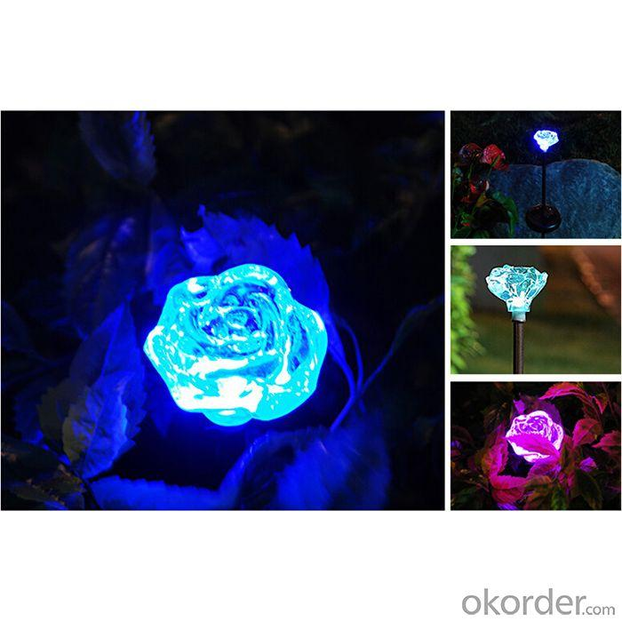 Hot Selling New Product Solar Flower Solar Lights For Garden By Professional Manufacturer