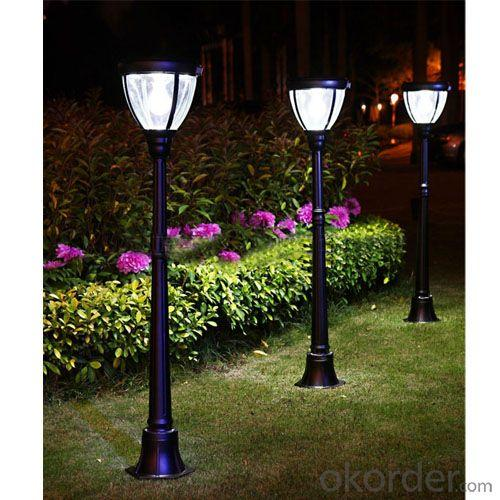 3W 1.25M High Pole Overture Jy-0007A-S1-31W-Pir Landscape Light, Natural Material Lights By Professional Manufacturer