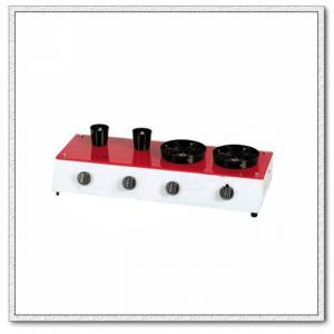 Coffee Heater with Red, White and Black Colors