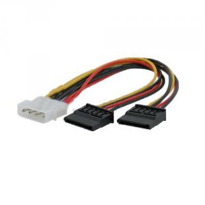 Ide Sata Serial Ata Y Splitter Power Cable Connector