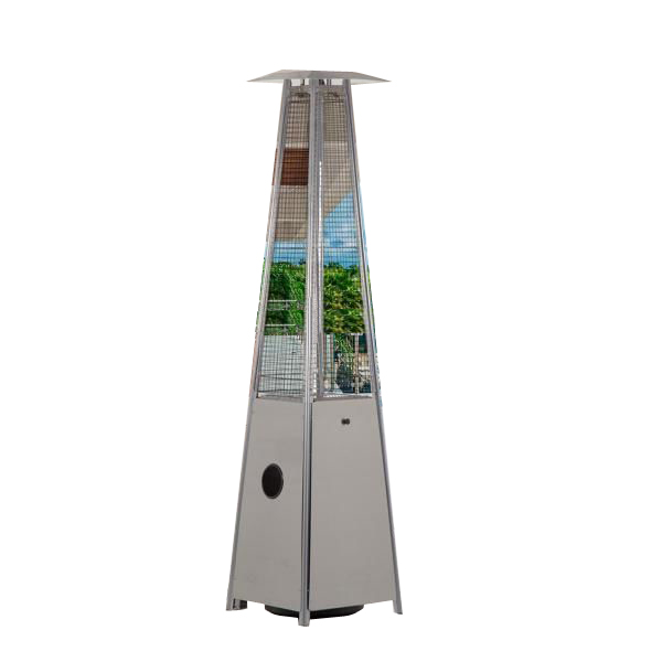 Gas Heater Stainless Steel Triangle Patio Heater