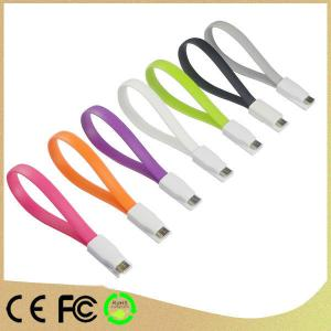 New Fashion Portable Flat Magnet Cable For Iphone5/Ipad Mini Usb Cable
