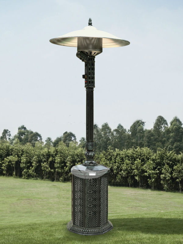 Gas Heater Cast Aluminium Antique Style
