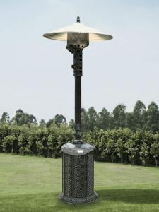 Gas Heater Cast Aluminium Antique Style