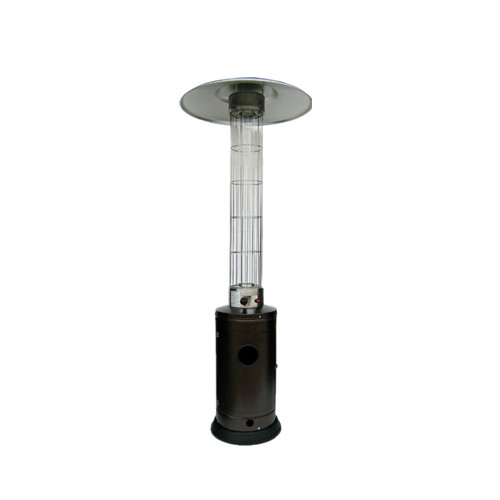 Outdoor Gas Flame Heater with Glass Tube