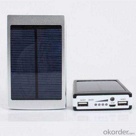 10000Mah Solar Cell Phone Charger For Mini Ipad, Iphone 5 5S,Samsung Galaxy