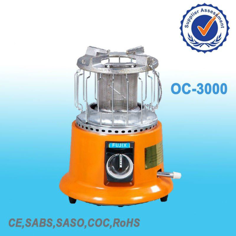 Gas Heater with Piezoelectric Ceramic Ignitor