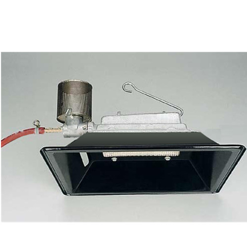 Gas Heater Black Color with Thermocouple