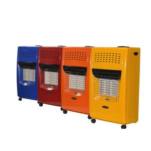 Gas Heaters with Infrared and Bella Color