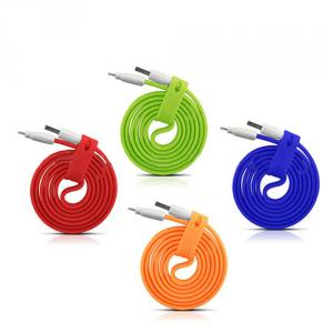 Flat Silicone Data Sync Cable