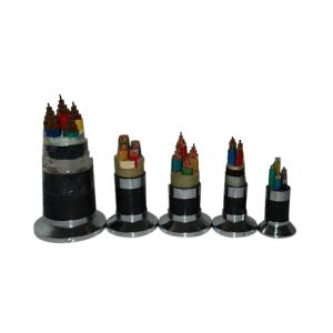 Multi Cores Xlpe Insulated Pvc Sheathed Power Cable