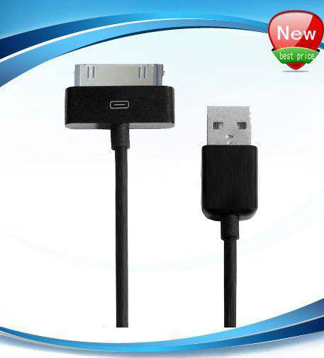 Black Usb Cable For Ipad 2 &Amp; Ipad, Length: 1M