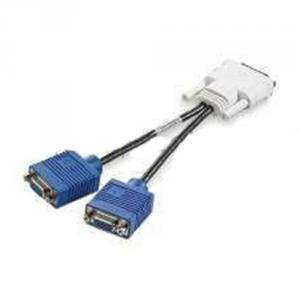 For Hp, 338285-008 Dms-59 To Dual Vga Y-Splitter Power Cable