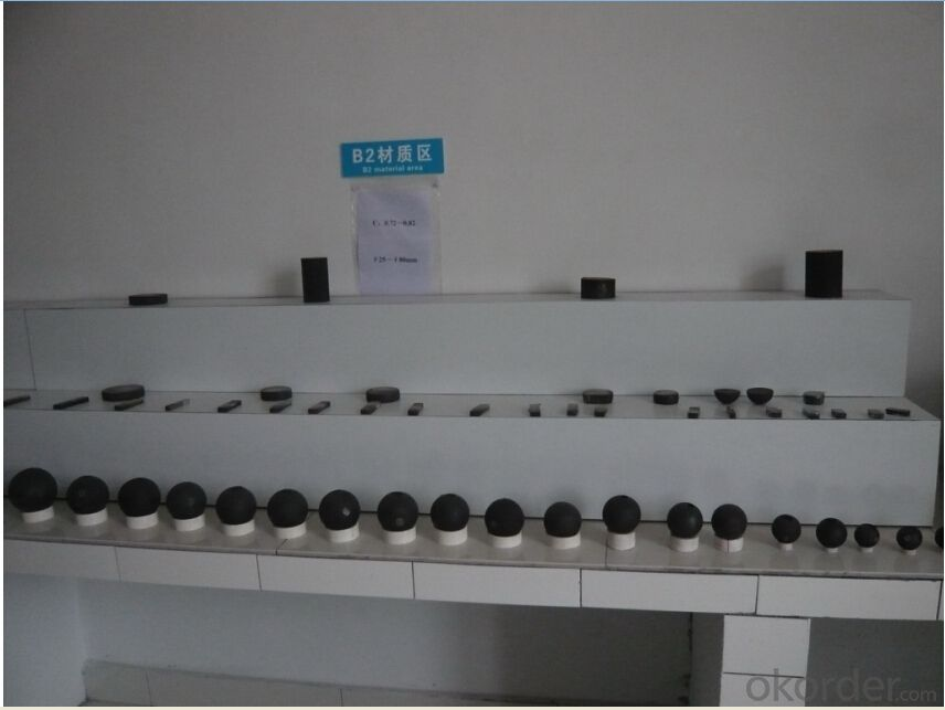 Steel Grinding Ball With High Hardness & Good Wear-Resistance & No Breaking
