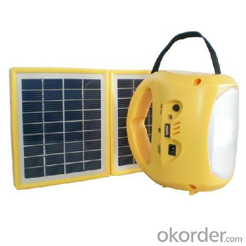 double solar panel led lantern