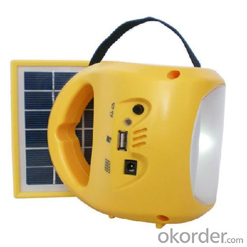 solar led lantern with usb mobile charging port