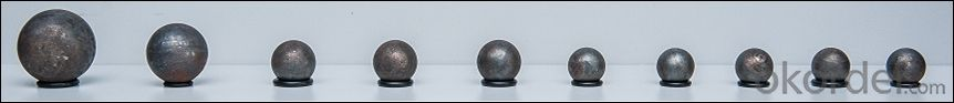 Rolling Grinding Ball with High Hardness Low Breakage Rate for Cement Plant and Mineral Processing