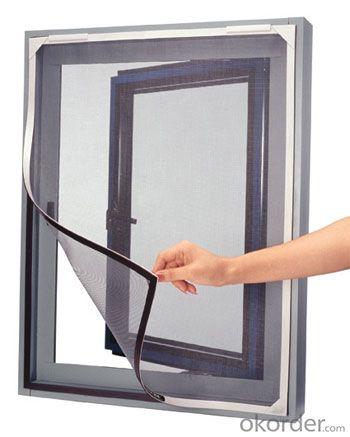 DIY Magnetic Mesh Door And Window Polyester Mesh