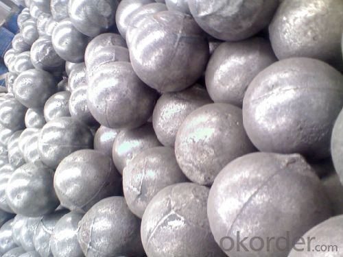 High Chrome Alloy Cast Grinding Ball with High Hardness Low Breakage for Mineral Processing