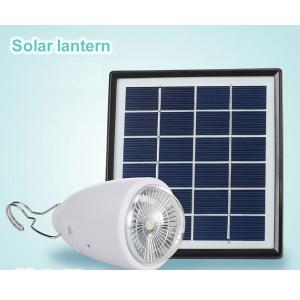 LED Solar Lantern Rechargeable li ion lithium Battery 1.7w 2200mah LED Bulb Light By China Factory
