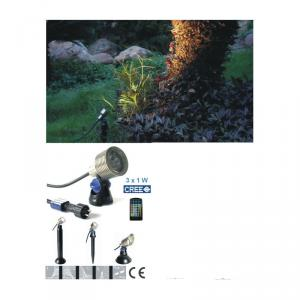 Led Outdoor Lighting 12V 3W Adjustable From China Factory