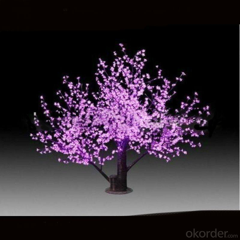 Newest Hot Sell 1.5M Pink Outdoor LED Tree Lights With CE, ROHS From China Factory