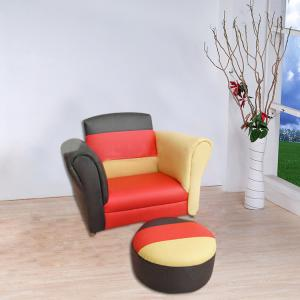 Simple Style Fabric Children's Sofa Customized Pattern OEM Available