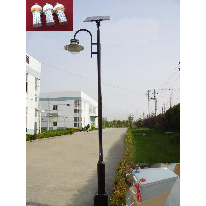 3.5M 20W LED Solar Garden Light, Solar Courtyard Light, Solar Park Light From China Factory