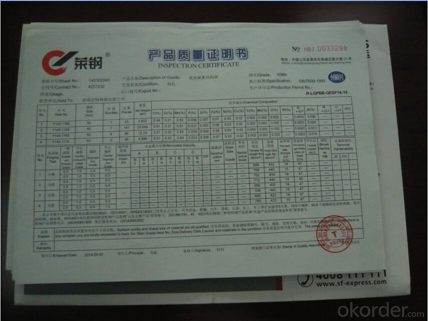 High Chrome Alloy Casting Grinding Ball with HRC60-65 Dia 1''-Dia6''(ISO9001:2008)