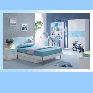 Blue Color Children Furniture Sets Kids Bedroom Furniture