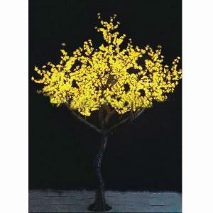 New LED Tree Light Christmas Tree Light Fz-2400 Yellow From China Factory Manufacturer
