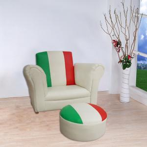 Stitching Color Children's Leisure Sofa Fashion Design Durable
