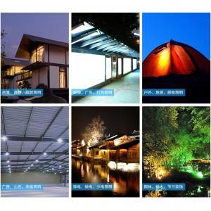 China Factory Quality Portable LED Solar Flashlight Solar Torch Light Solar LED Flashlight Blue
