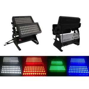 Decoration Light 48X2*4W RGB 4-In-1 Waterproof Outdoor LED Landscape Double Head Wall Washer Light By Professional Manufacturer