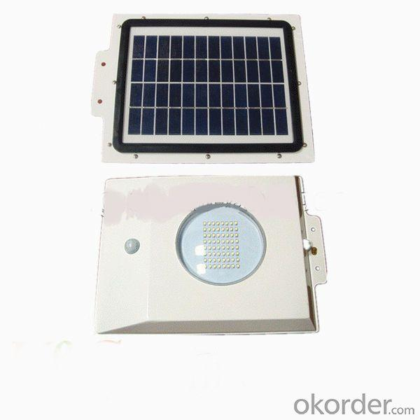 All In One High Efficiency LED Solar Garden Light With Motion Sensor By Professional Manufacturer