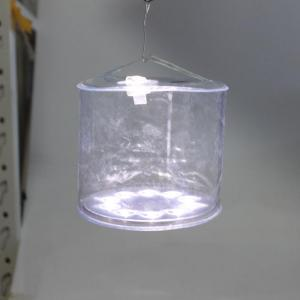 Transparent PVC Plastic Bag Inflatable Solar Lantern Gas Filled Stand Solar Light