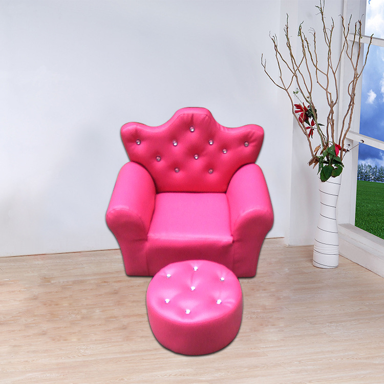 Comfortable Princess Style Children Sofa