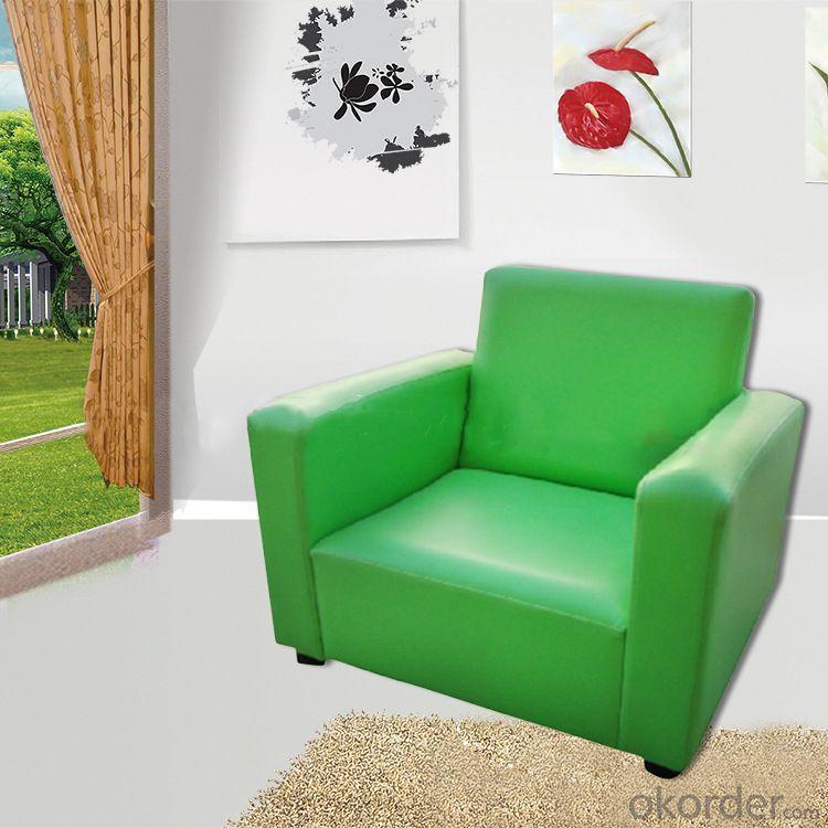 Green Kids' Sofa Soft Sponge High-elastic Foam Ergonomic Design