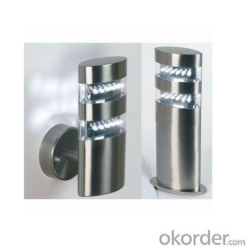 Low Energy Stainless Steel LED Garden Bollard Lights From China Factory