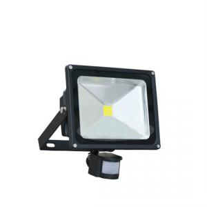 Hot Selling -12 Hot Sale High Lumen Ip44 30W Tuv Gs Tuv-Ce Pir Floodlight LED Floodlight With Pir Sensor