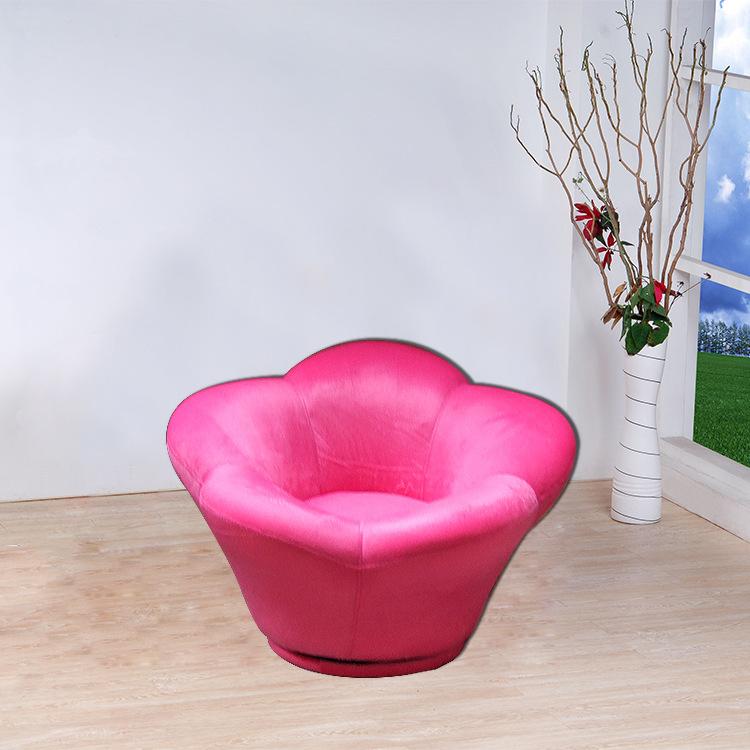 New Flower Shape Pink Children Sofa