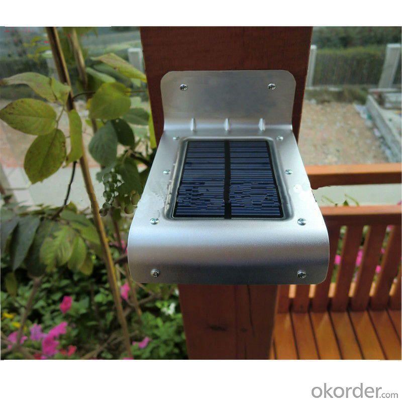 16 Bright LED Wireless Solar Powered Motion Sensor Outdoor Light - Weatherproof, No Batteries By Professional Manufacturer