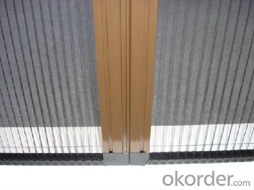 folded window mesh