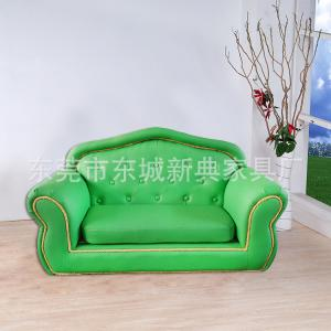 PVC Children's Two Seats Sofa Fashion Design Eco-friendly Material