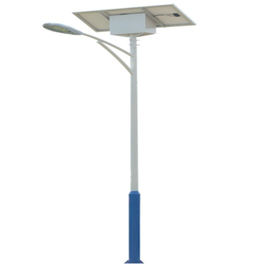China Manufacturer High Lumens IP66 Aluminum Solar Street Light 70w Solar Panel 20W LED Lamp